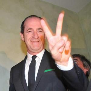 Luca Zaia festeggia la Vittoria elettorale al K3