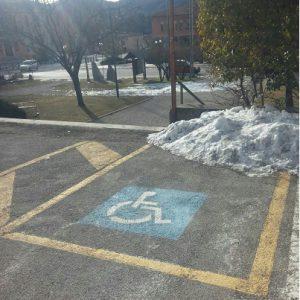 cogollo parcheggio disabili