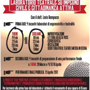 laboratorio teatrale Thiene play your part