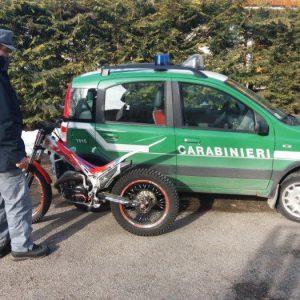 foto cc forestali per moto