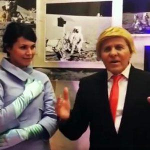Renzo Rosso diventa Trump per Carnevale, 'muri ovunque'