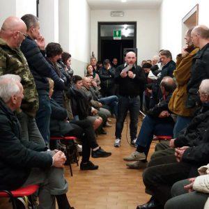 Sarcedo - Luca Cortese riunione profughi 13 marzzo 217