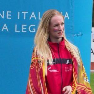 francesca dalla pozza campionessa italiana cadetti 1000 m