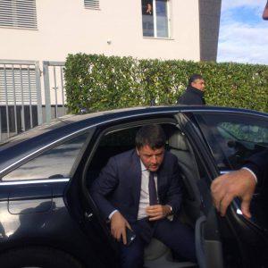 Arrivo Renzi
