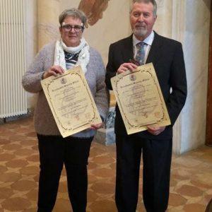 gimmo e chiara_laurea honoris causa
