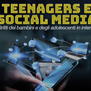Teenagers e social media locandina