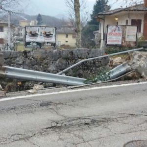 cogollo - incidente in via san rocco dic 2017