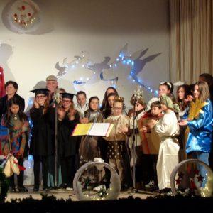 cogollo - sindaco vice e parroco cantano il natale 2017