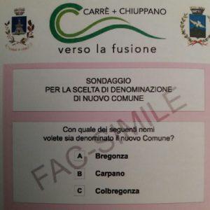 carrè chiuppano - fac simile scelta nome 5 feb 2018