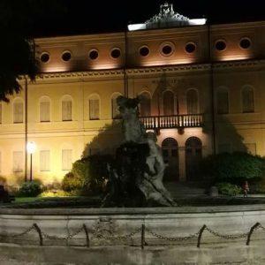 municipio thiene notturna