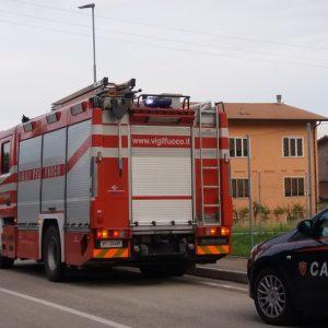 vigili fuoco piovene - morte zordan 21 maggio 2018