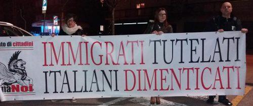 sarcedo protesta No profughi marzo 2017